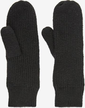 PIECES Mittens in Black