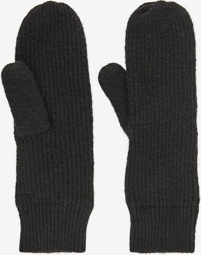 PIECES Fäustlinge in schwarz, Produktansicht