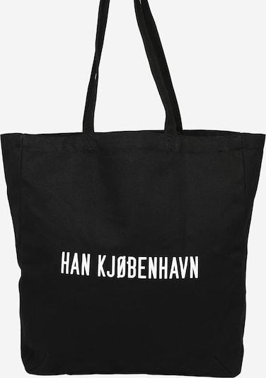 Han Kjøbenhavn Cabas en noir / blanc, Vue avec produit