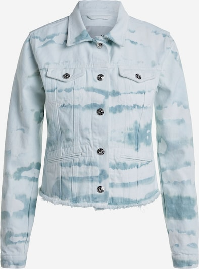 OUI Jacke in blue denim / white denim, Produktansicht