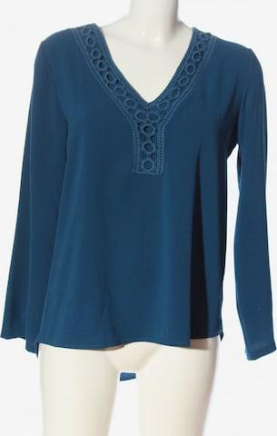 MONACO blue Langarm-Bluse in M in Blau