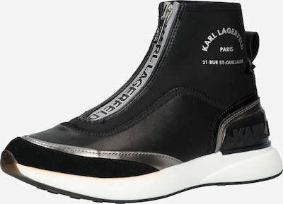 Sneaker înalt 'FINESSE' Karl Lagerfeld pe gri / negru, Vizualizare produs