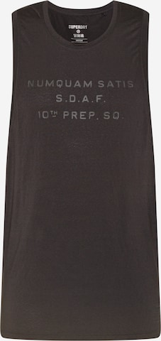 Superdry Funksjonsskjorte i svart
