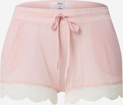 ETAM Pyjamashorts 'WARM DAY' in pink / weiß, Produktansicht