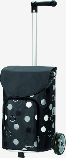 Andersen Shopper Trolley 'Unus Shopper Kira' in de kleur Lichtblauw / Donkerblauw / Zwart / Wit, Productweergave