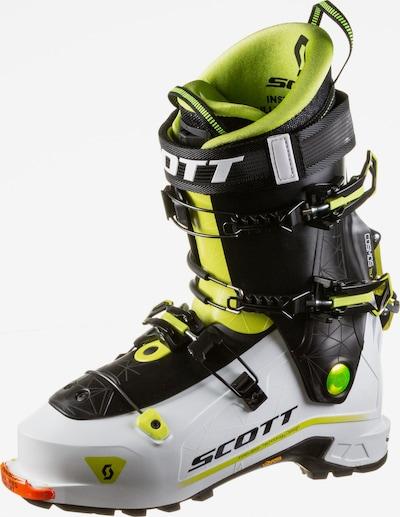 SCOTT Ski Boots 'Cosmos Tour' in Neon yellow / Neon green / Orange / White, Item view