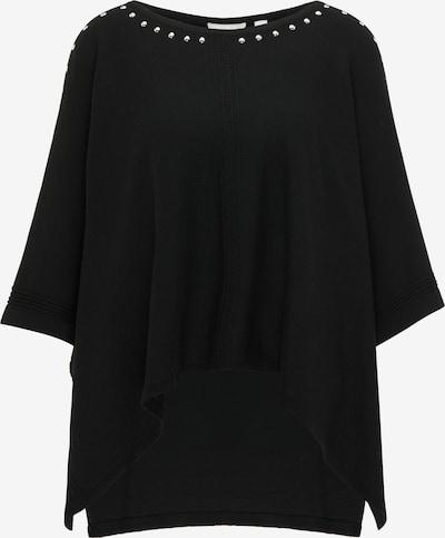 Usha Cape in de kleur Zwart, Productweergave