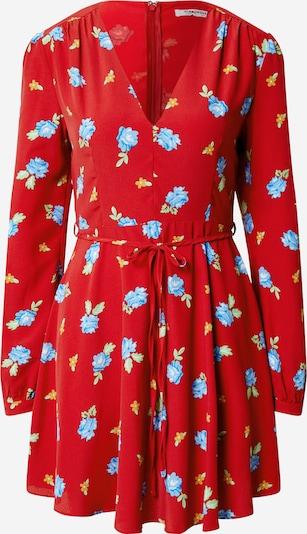 GLAMOROUS Kleid in blau / gelb / rot, Produktansicht