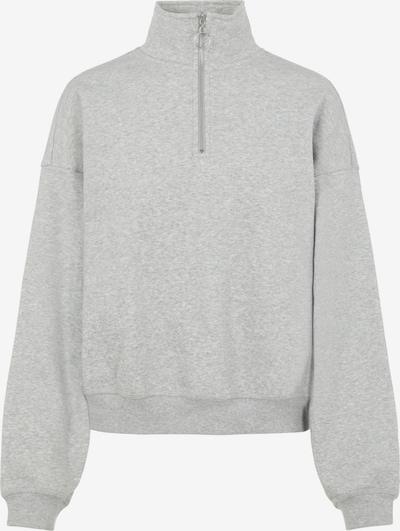 OBJECT Sweatshirt 'Kaisa' in hellgrau, Produktansicht