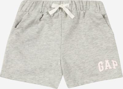 GAP Pantalon en gris chiné / rose / blanc, Vue avec produit