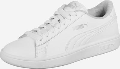 PUMA Schuhe 'Smash' in weiß: Frontalansicht