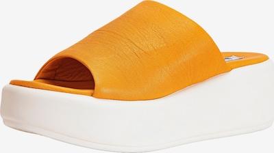 INUOVO Pantolette in orange / weiß, Produktansicht