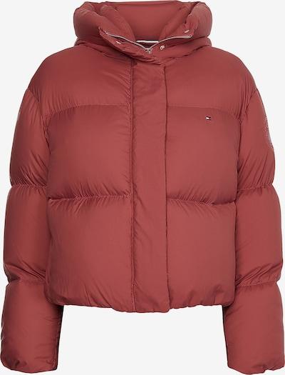 TOMMY HILFIGER Down Puffer Jacket in rot, Produktansicht
