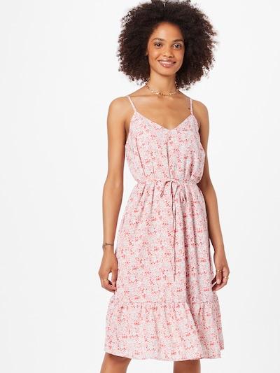 SISTERS POINT Kleid 'VIBBY' in hellblau / pink / rosa, Modelansicht