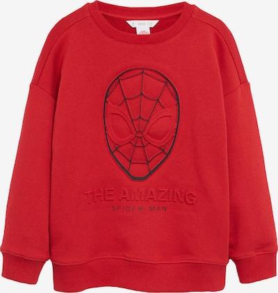 MANGO KIDS Sweatshirt in rot / schwarz, Produktansicht