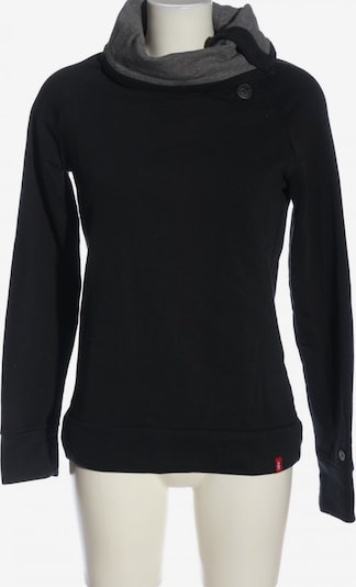 EDC BY ESPRIT Sweatshirt in M in hellgrau / schwarz, Produktansicht