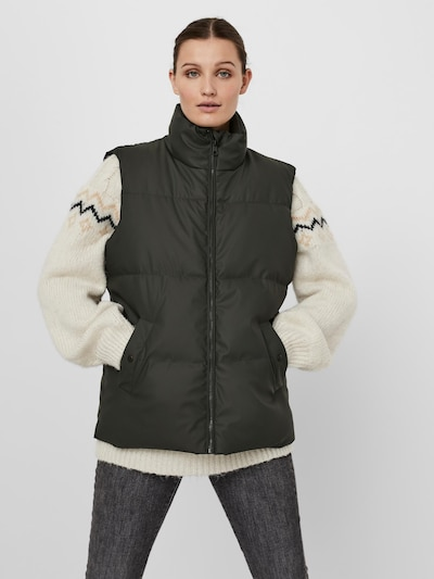 VERO MODA Vest 'Greta' in Basalt grey, View model