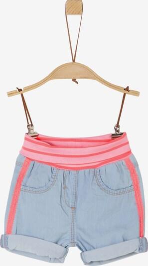 s.Oliver Jeans in blau / blutrot, Produktansicht