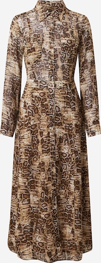 SAND COPENHAGEN Kleid 'Mati' in camel / dunkelbraun, Produktansicht