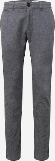 Pantaloni 'Herringbone' TOM TAILOR pe gri, Vizualizare produs