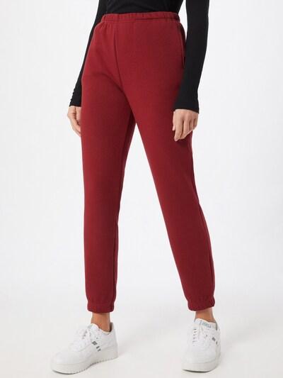 Gina Tricot Spodnie w kolorze czerwonym, Podgląd na modelu(-ce)