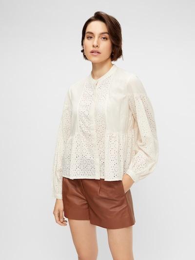Y.A.S Bluse in eierschale, Modelansicht
