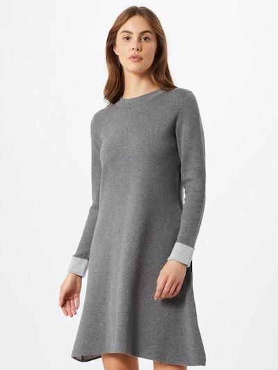 ESPRIT Úpletové šaty - tmavě šedá, Model/ka