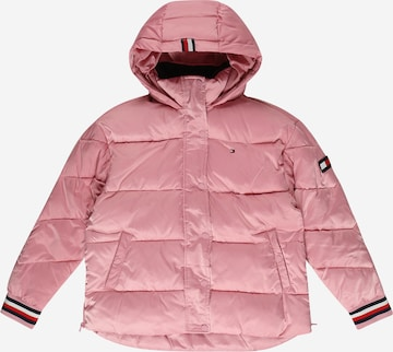 TOMMY HILFIGER Prechodná bunda - ružová