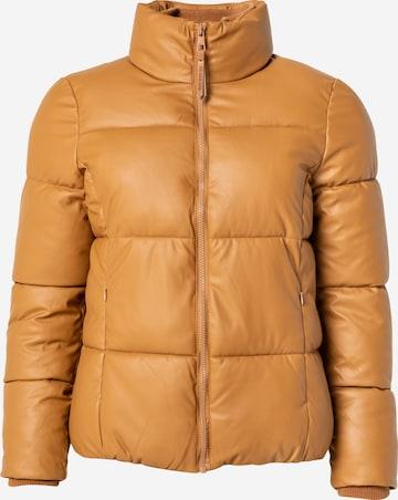 TOM TAILOR DENIM Between-season jacket in Brown
