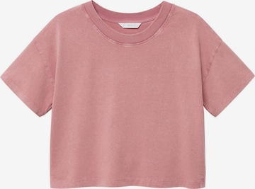 MANGO TEEN T-Shirt 'ELI' in Pink