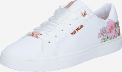 TOM TAILOR Sneaker in grün / pink / weiß, Produktansicht