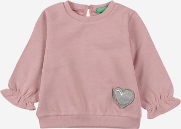 rozā UNITED COLORS OF BENETTON Sportisks džemperis