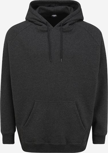 Urban Classics Big & Tall Sportisks džemperis 'Blank' antracīta, Preces skats