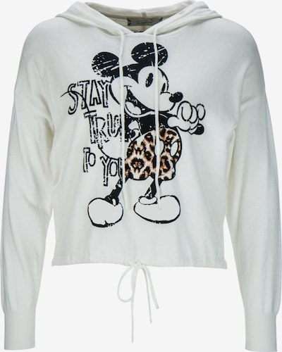Frogbox Sweatshirt 'Hoody with mickey' in weiß, Produktansicht