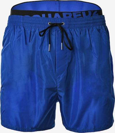 DSQUARED2  Badeshorts in blau / schwarz, Produktansicht