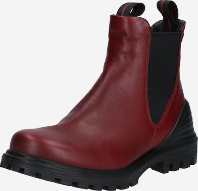ECCO Stiefelette 'TRED TRAY' in rot / schwarz, Produktansicht