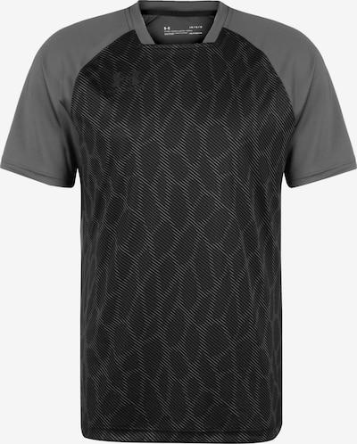 UNDER ARMOUR Accelerate Premier Trainingsshirt Herren in grau / schwarz, Produktansicht