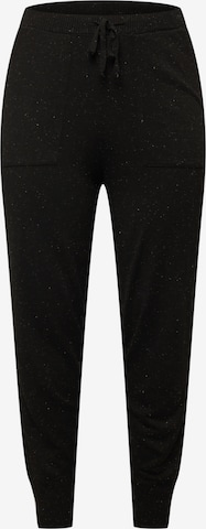juoda Guido Maria Kretschmer Curvy Collection Kelnės 'Jenny'
