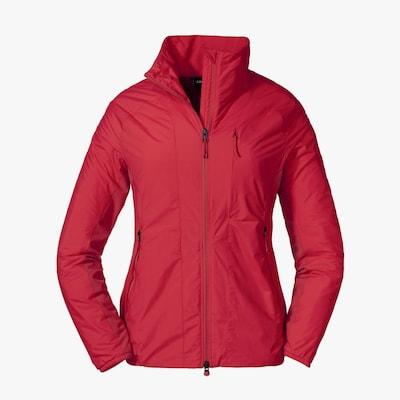 Schöffel Jacke ' La Noire Hybrid ' in rot, Produktansicht