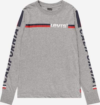 LEVI'S Shirt in navy / graumeliert / rot / weiß, Produktansicht
