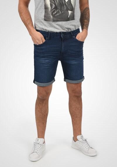 !Solid Jeansshorts 5-Pocket in blau / blue denim: Frontalansicht
