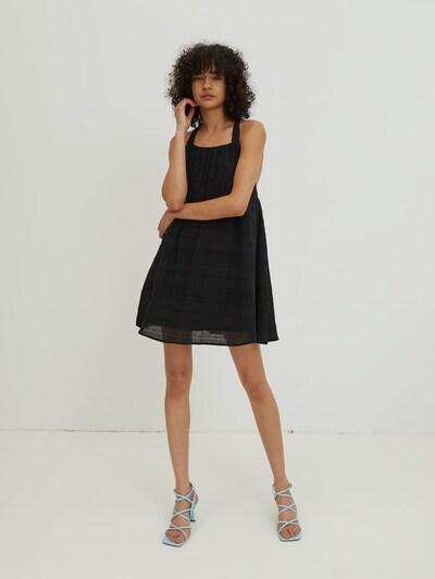 EDITED Kleid 'Aitana' in schwarz, Modelansicht
