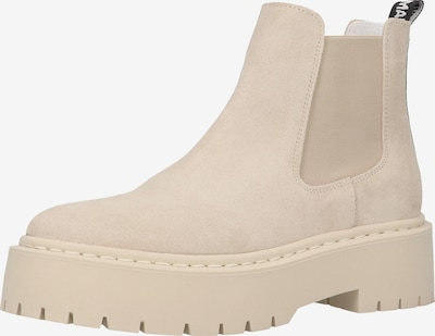 STEVE MADDEN Chelsea Boots in beige / schwarz / weiß, Produktansicht