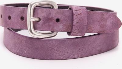 BA98 Ledergürtel in lila, Produktansicht