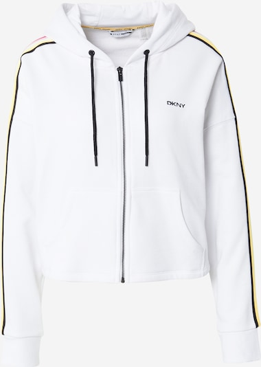 DKNY Performance Sportsweatjacke in gelb / pink / schwarz / weiß, Produktansicht