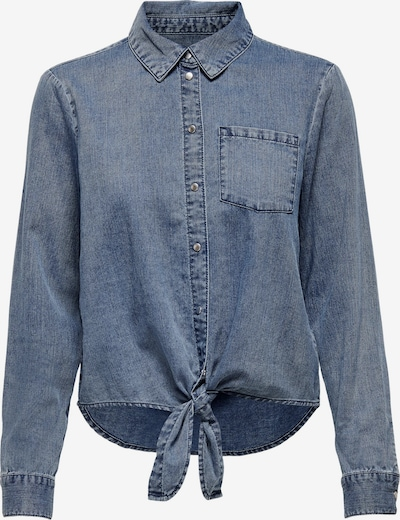 ONLY Bluse 'Lecey' i blue denim, Produktvisning