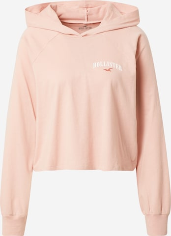 HOLLISTER Sweatshirt i rosa