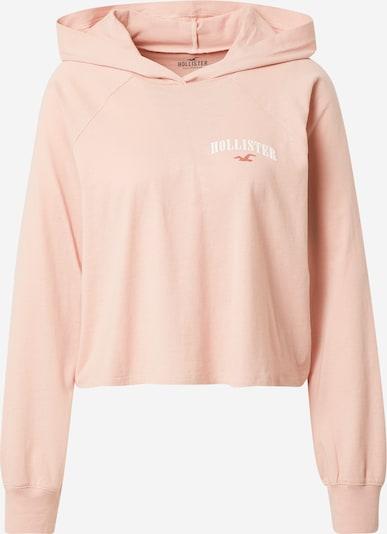 HOLLISTER Shirt in rosa / weiß, Produktansicht
