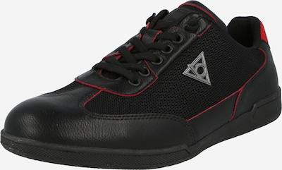 bugatti Halbschuh 'SOLAR EXKO' in rot / schwarz, Produktansicht