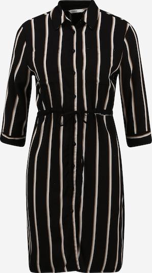 Only (Petite) Jurk 'Tamari' in de kleur Bruin / Zwart / Wit, Productweergave